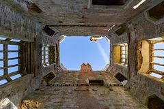 Titchfield Abbey - open roof