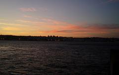 Twilight over Lisbon.