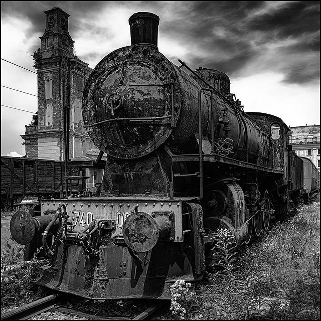 Abandoned Trieste - dark steam