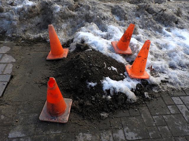 Caution: Dirt