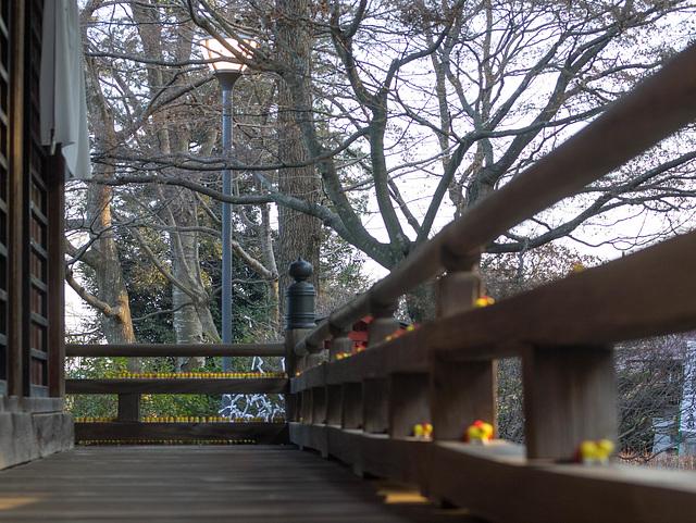 Corridor around the temple