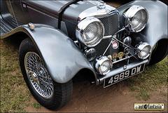 Jaguar SS100 Replica - 4989 DW - Details Unknown