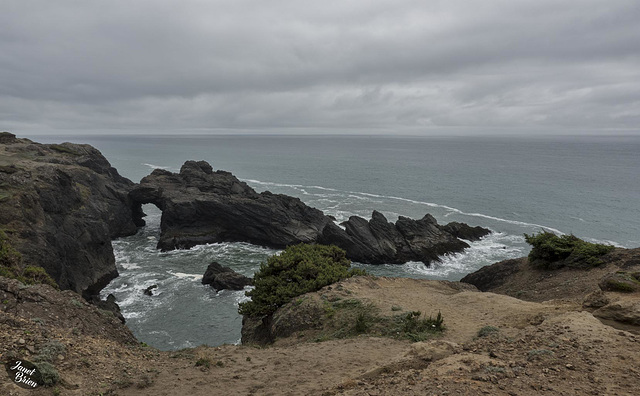 Pictures for Pam, Day 199: Natural Bridge at Whaleshead Cove