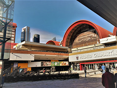 Chamartin station and 3 of the 4 Towers.