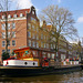 In den Grachten  von Amsterdam