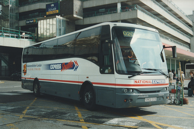Stagecoach East Kent S902 CCD at Dover - 12 Aug 1999