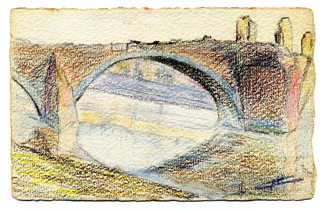 Pavia - il Ponte vecchio