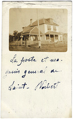 WP2190 WPG - ST. NORBERT - [POST OFFICE AND STORE]