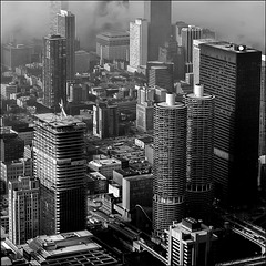 Chicago from Sears Tower - 1986