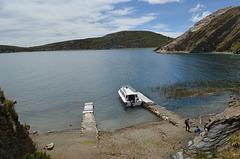 Bolivia, Titicaca Lake, Santiago Pampa Bay of the Island of the Sun