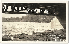 WP2067 WPG - OSBORNE BRIDGE APR 17 1936 (SPRING ICE)