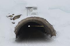 HochJoch Ski Tunnel, Lower Entrance