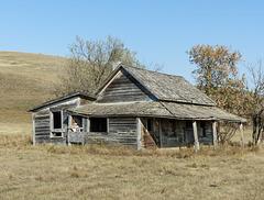 Old homestead, Alberta