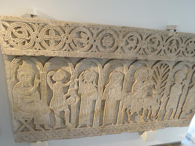 Musée archéologique de Zadar : art religieux croate.