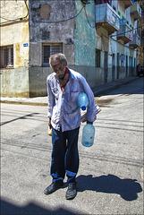 Porteur d'eau.