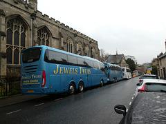 Jewel's Tours coaches in Bury St. Edmunds - 23 Nov 2019 (P1050982)