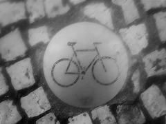 Biking until fall on ground