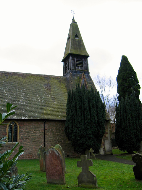 Church of St James the Great at Blakedown