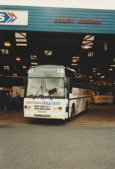 Shaw-Hadwin G553 SSP leaving Digbeth Coach Station, Birmingham - 8 Sep 1995