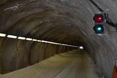 HochJoch Ski Tunnel Inside