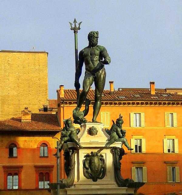 Bologna - Il Nettuno restaurato