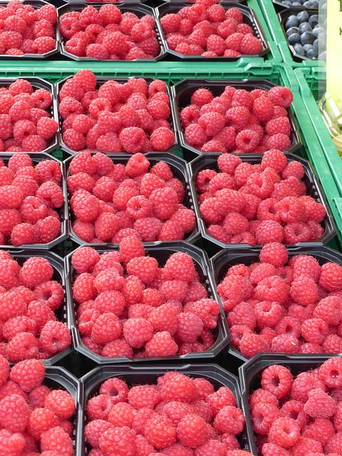 Raspberries, Bergen, Norway
