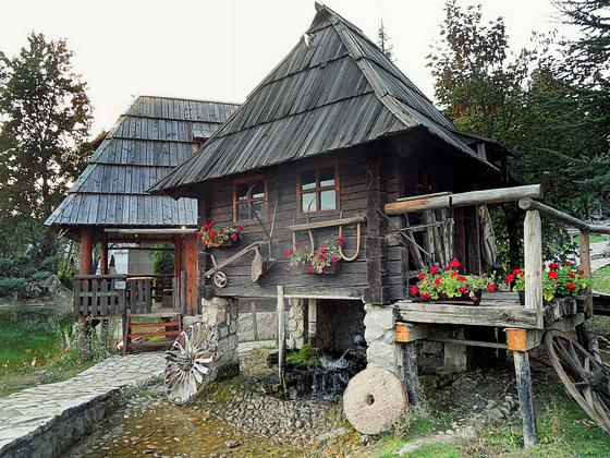 From the ethno village Stanišići