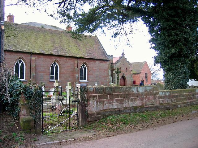Church of St Mary at Harvington Hall