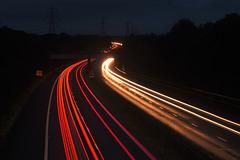 Motorway at night!