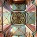 Kreuzgewölbe in der St. Georgen Kirche in Wismar