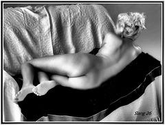 La beauté des Femmes en N&B, The beauty of the Women in black and white