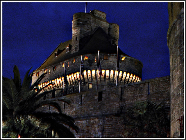 Illuminations au château de Saint Malo (35)