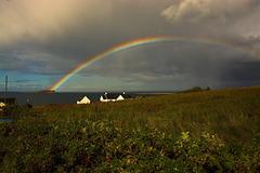 Rainbow, Staffin - Isle of Skye