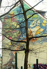Graffito an der Beckstraße