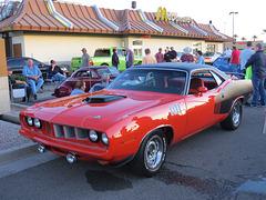 1971 Plymouth Hemi 'Cuda (clone)