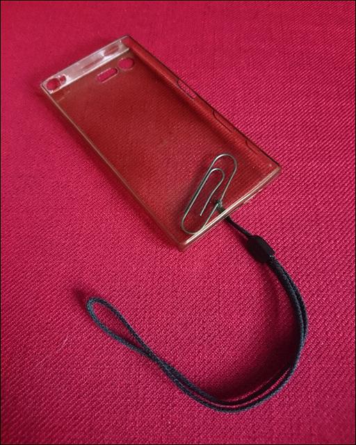 DIY wrist strap