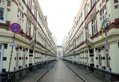 Terrassenhäuser in der Beckstraße