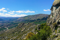 Mondalindo and the Bustarviejo Valley from The Sierra de La Cabrera (Cancho Largo).