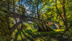 Historic Mangfallbrücke built ~ 1900