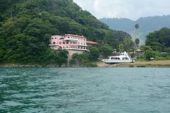 Guatemala, Villa on the Shores of the Lake of Atitlan
