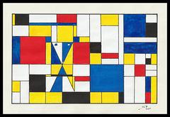 Souricette (S7) par Mondrian