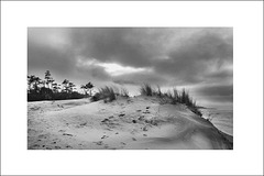 La dune en hiver