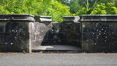 North West Parapet from Which Most Dogs Jump