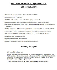 Programm 2018 So./ Mo. 29./30. April
