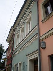 House where Helena Rubinstein was born in 1872.