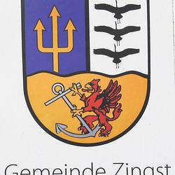 20190908 6099CPw [D~NVP] Wappen, Zingst