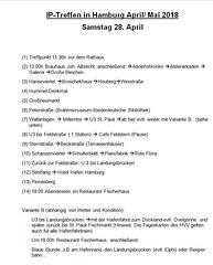 Programm 2018 Sa. 28. April