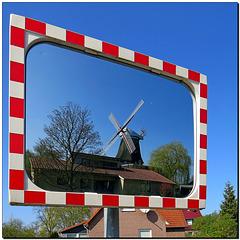 Verkehrsspiegel | Windmühle