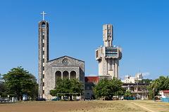 concrete towers