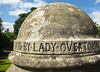 Laid by Lady Overtoun